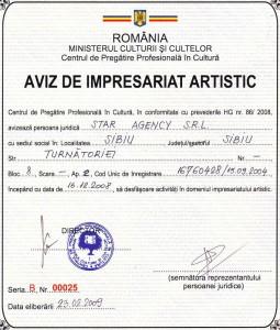 Aviz Impresariat Star Agency